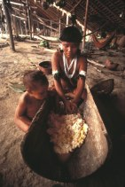 tribe mother and child