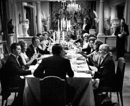 upper class dinner table