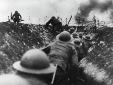 world war 1 trench battle