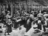 WWI munitions factory