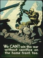 WWII Sacrifice Poster