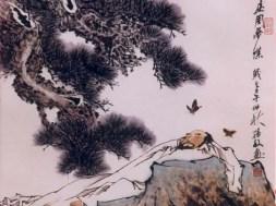 Zhuangzi butterfly pine nap