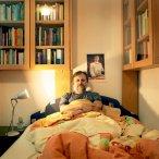 zizek in bed