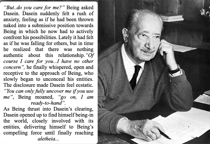 heideggers being Martin heidegger is widely acknowledged to be one of  but more openness toward and more reflection on that which is nearest to us—being 8 heidegger's.