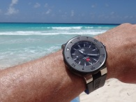 watch on the beach