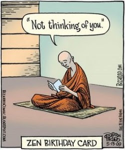 zen birthday card Piraro