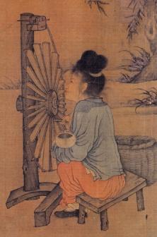 Chinese Spinning Wheel