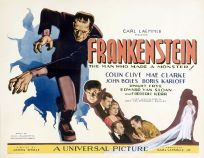 Frankenstein vintage movie poster
