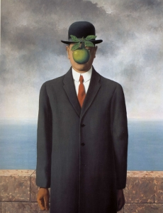 Magritte's Son of Man