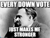 Nietzsche downvote