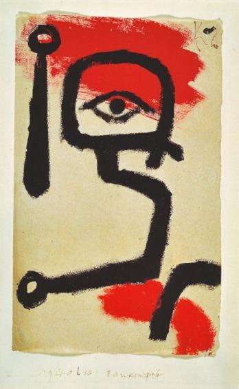 Paul Klee Kettledrummer