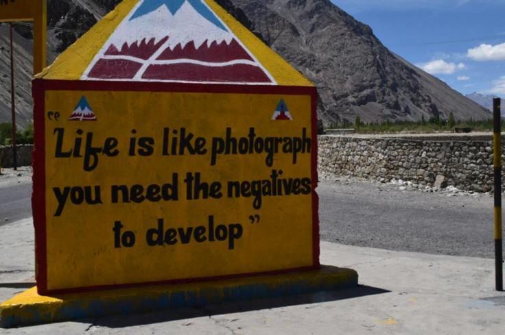 life is like a photograph
