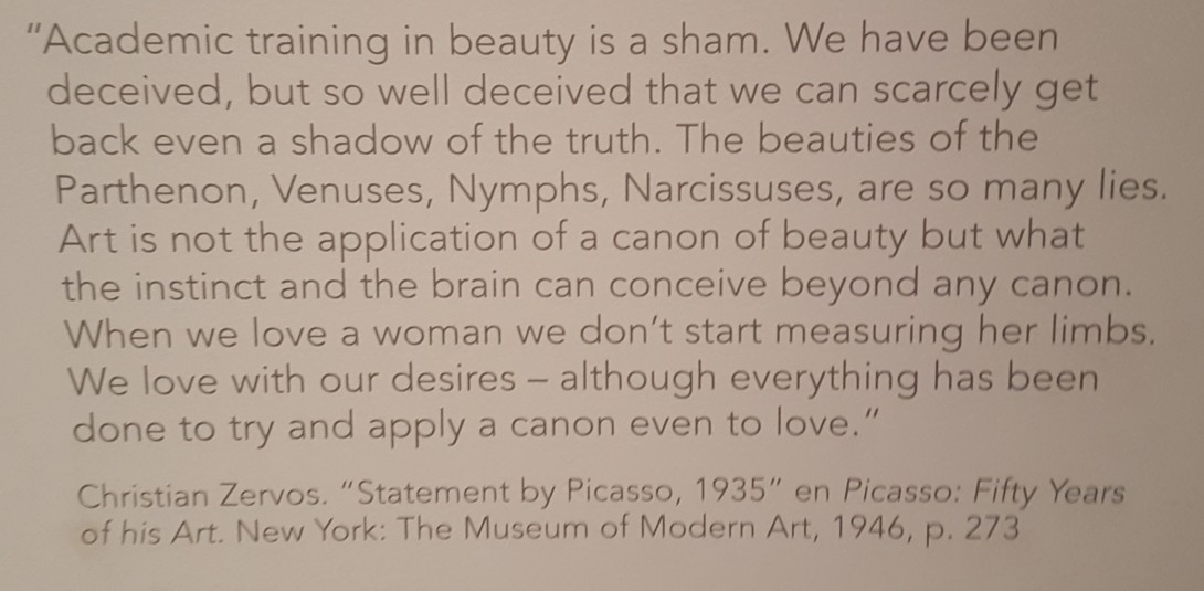 Picasso and Art Beyond the Canon