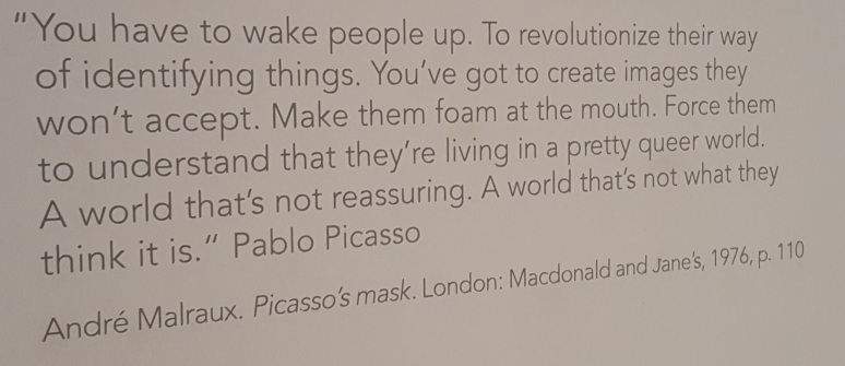 Picasso Wake People Up