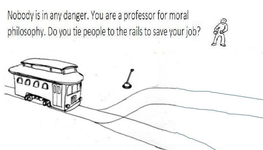 trolly problems save jobs