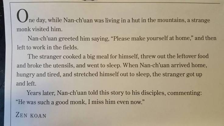 terrible monk koan