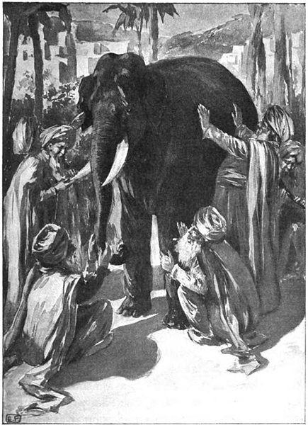 blind men elephant turbans