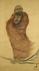 Bodhidharma Chinese painting