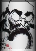 Bodhidharma is a bit intense