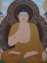 buddha painting china