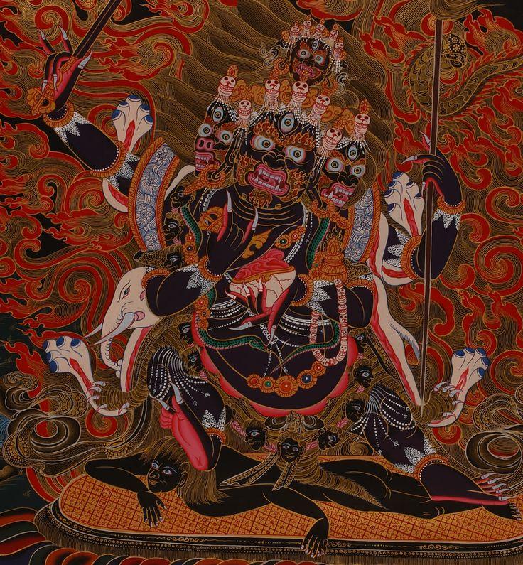 Buddhist demon tantra