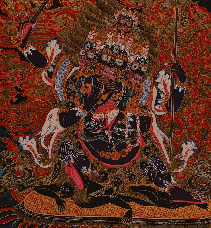 Buddhist demon tantra