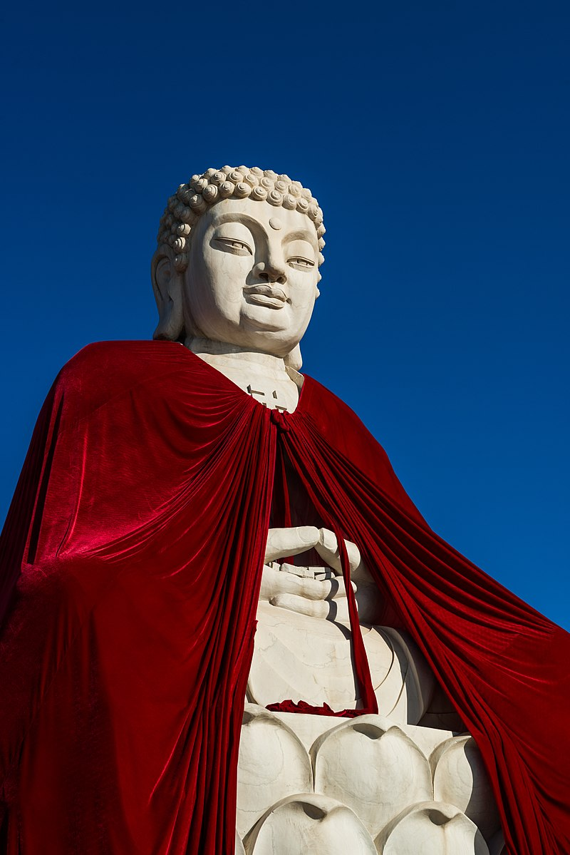 Gautama Buddha with cape