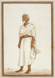 Jain monk broom