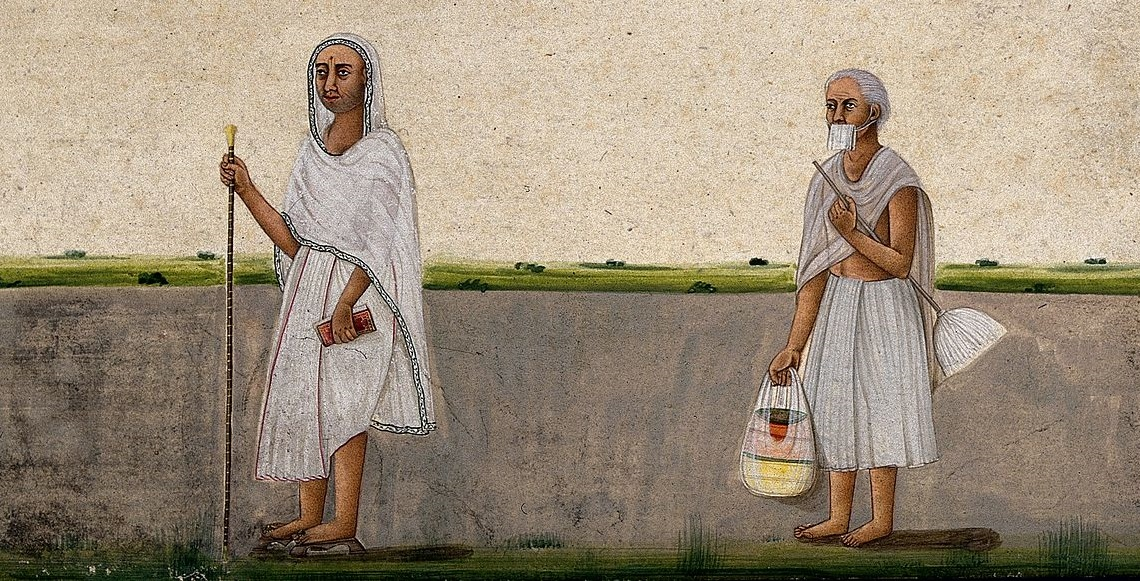 Jain Monks 1800s