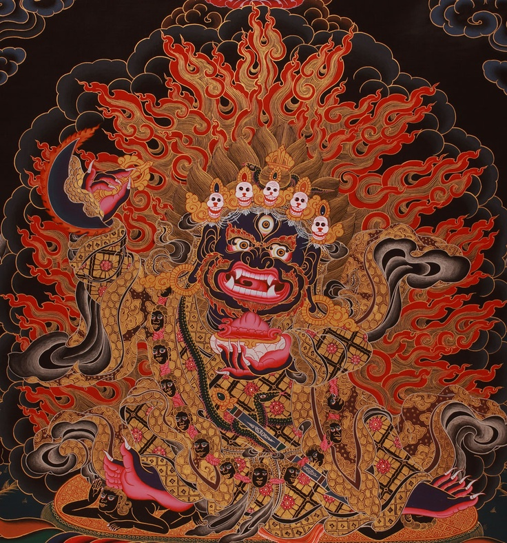 tibetan buddhist demon