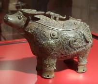 Chinese ornate ox