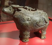 Chinese ornate ox