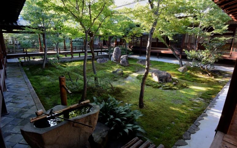 courtyard garden Ken-nin-ji zen temple