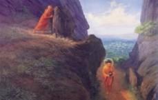devadatta tries to kill buddha