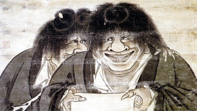 Kanzan and Jittoku zen