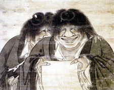 Kanzan and Jittoku zen