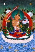 manjushri lotus tibet