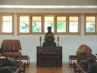 modern zendo practice hall
