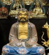 painted Bodhidharma