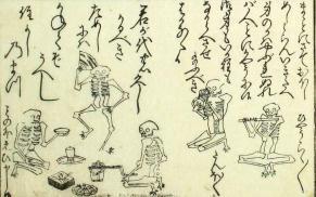 Rinzai zen skeletons
