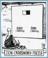 zen crossword comic
