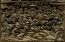 buddhist wood carving pure land.jpg