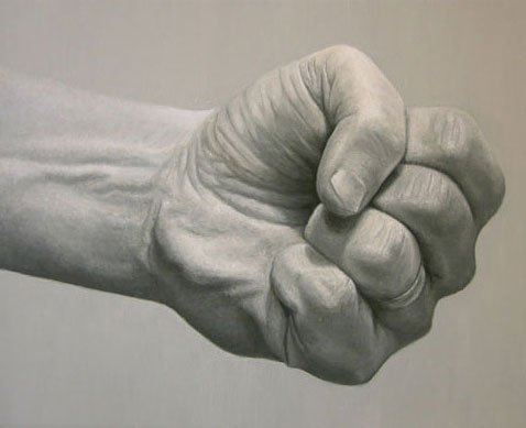 fist painting
