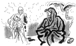 huike cuts off left arm bodhidharma