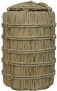 Japanese rice barrel